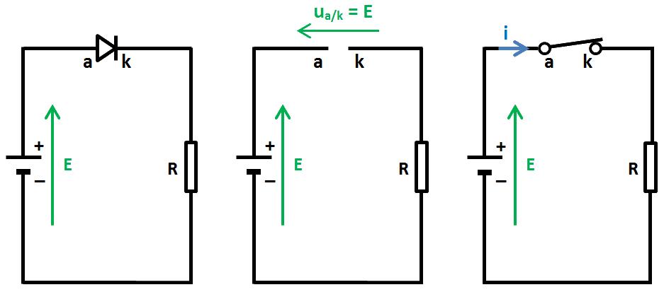 circuit diode passante